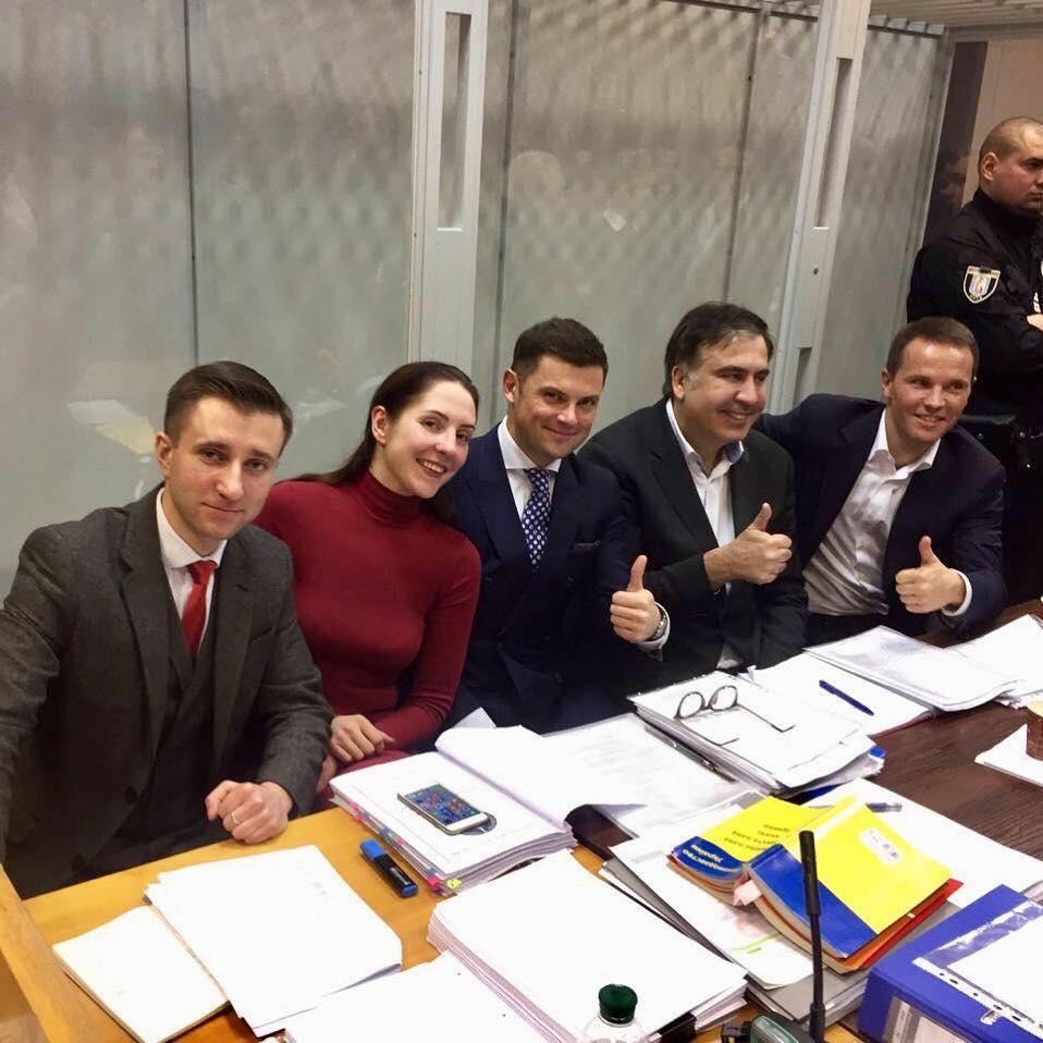 Защита Михаила Саакашвили